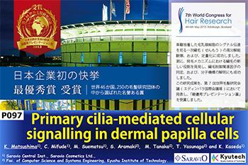 育毛剤M-1ミストを手がけるサラヴィオ化粧品が、世界毛髪研究会議で最優秀賞を受賞!